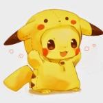 baby pikachu CUTE