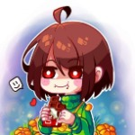Chara likes chocolate
