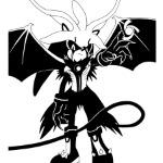 Silver-demon